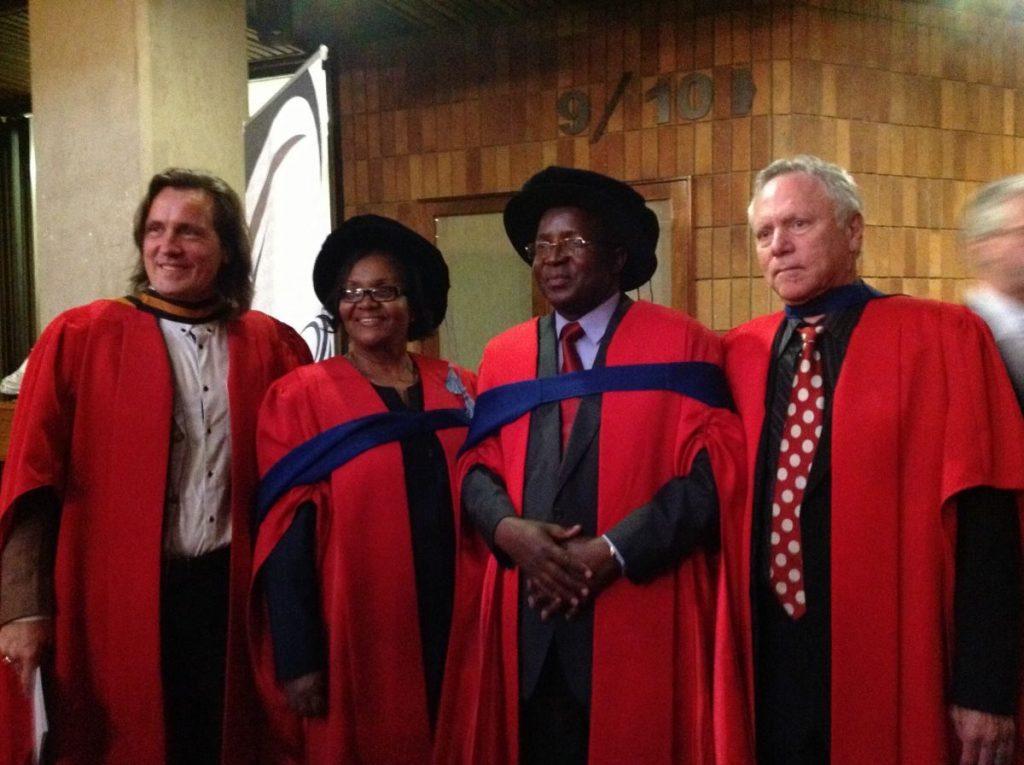 DA VINCI Graduation- with Liz Mamukwa & Passmore Matupire & Ronnie Lessem & Alexander Schieffer