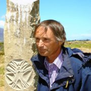Marko Pogacnik with Sculpted Cosmogram