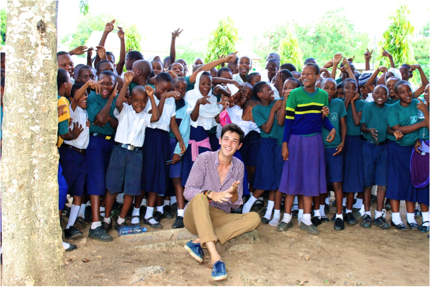 Working with school children in Tanzania changed my life - it opened my eyes for new ways of education.