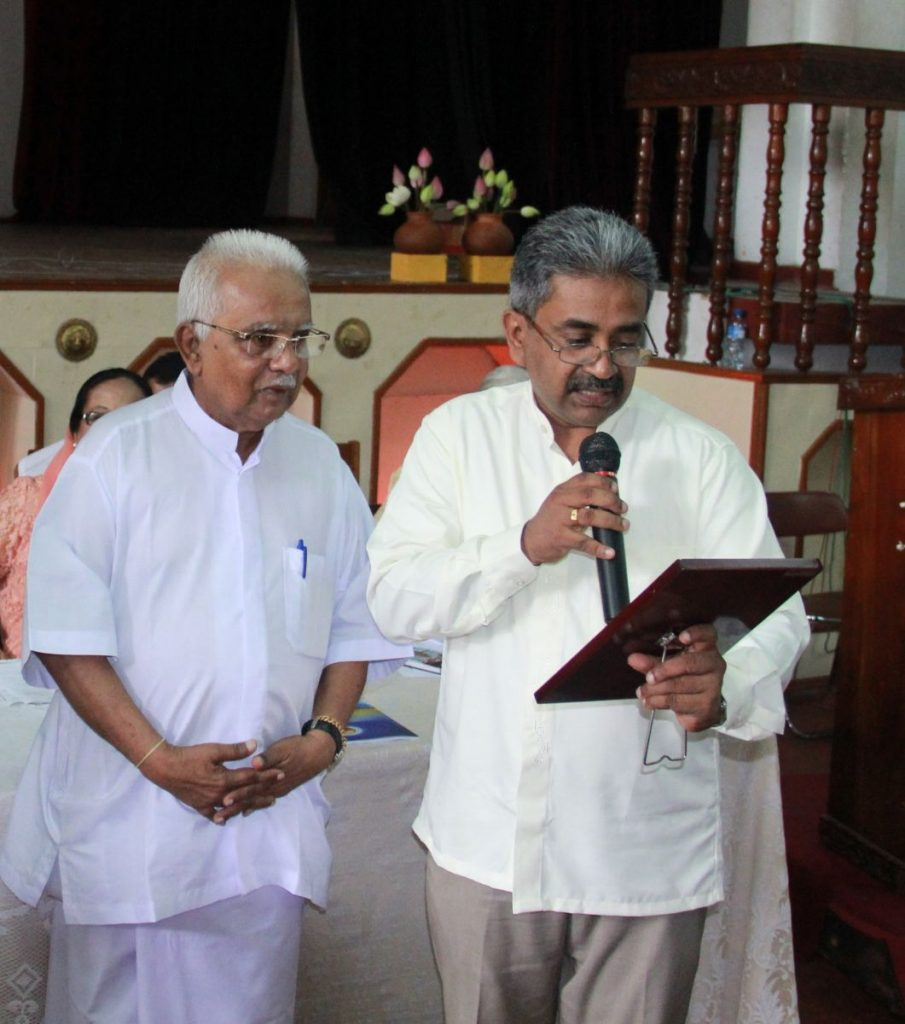 Sarvodaya - Vinya and AT Ariyaratne