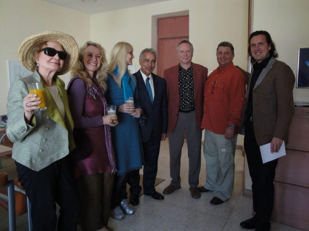 Sekem Trans4m Workshop together with Sam Rima 2010