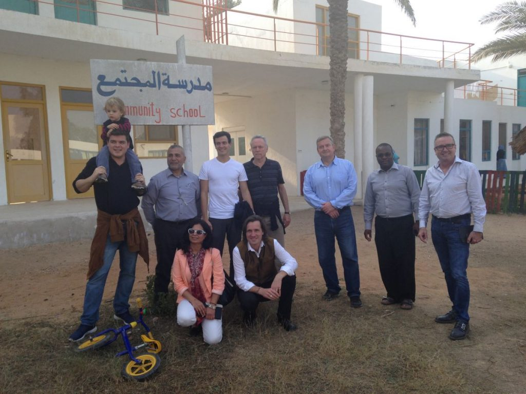 Visiting Sekem with one of our Phd Groups in 2015 2