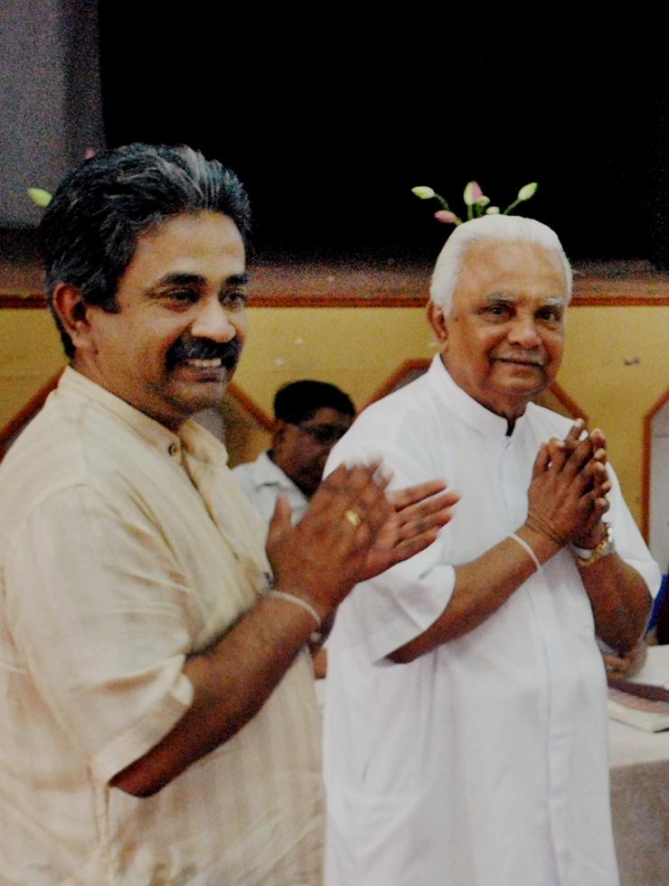 Wisdom Council - Vinya and Ari Ariyaratne, Sarvodaya, Sri Lanka 1