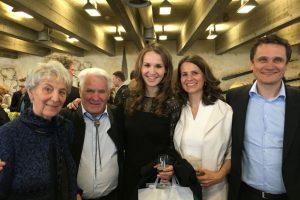 Zarah Kronbach - Graduation St. Gallen with Family