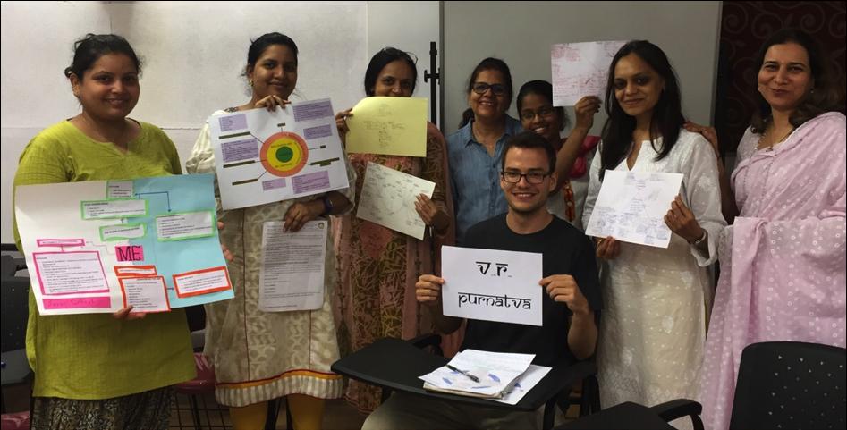 Sadhana School Ecosystem Members sharing their Mindmaps