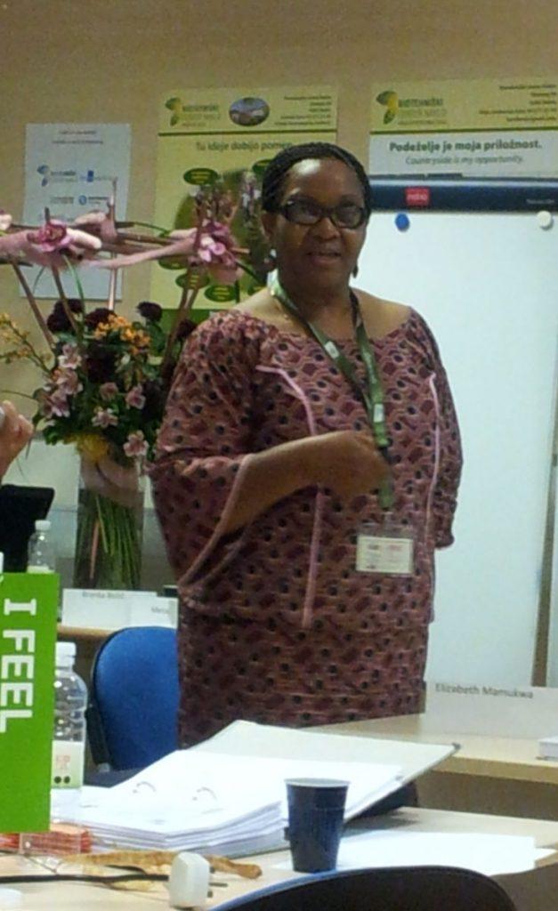 Integral Green Slovenia 2014 Elizabeth Mamukwa