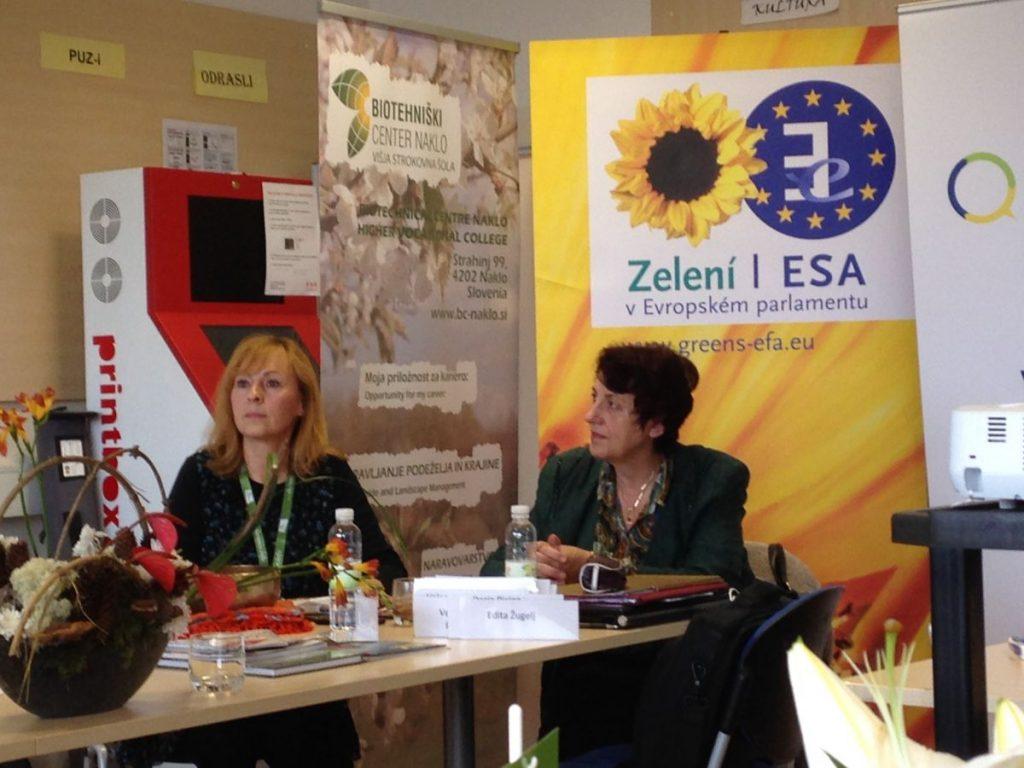 Integral Green Slovenia Conference 2014 Darja Piciga & Edita Zugelj