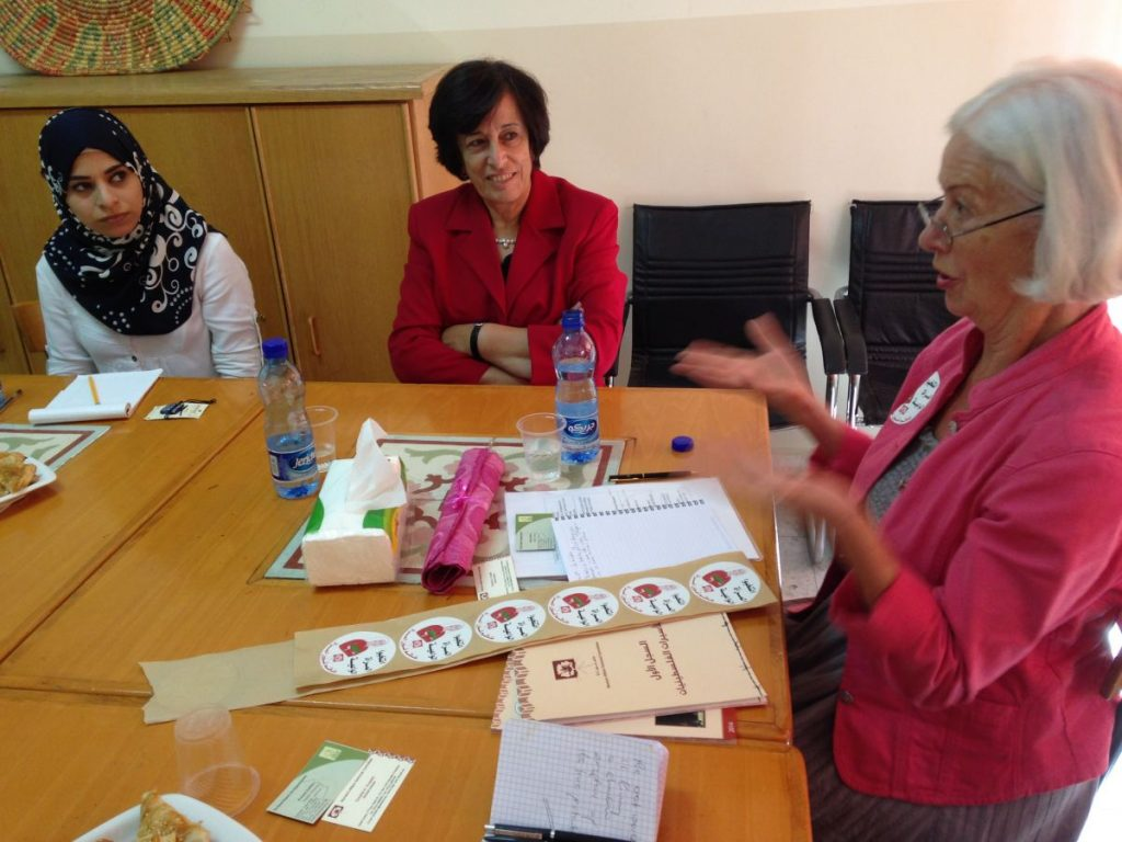 Palestine - Workshop with Women Affairs Technical Committed Scilla Zahira