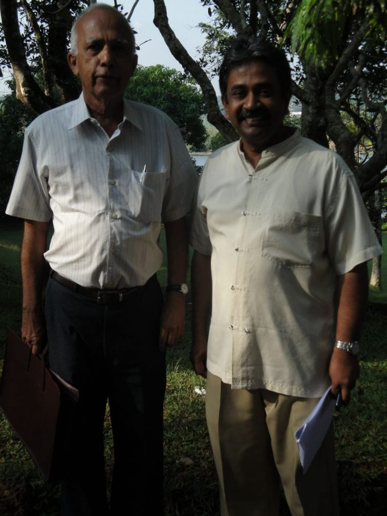 Sarvodaya 2010 With Vinya Ariyaratne at SIHL