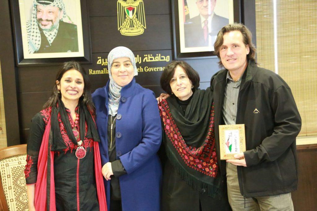 Zahira Kamal, Governor Ramallah, Rama Alexander 2016