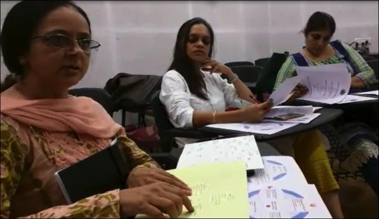 Sadhana School Innovation Ecosystem Members sharing