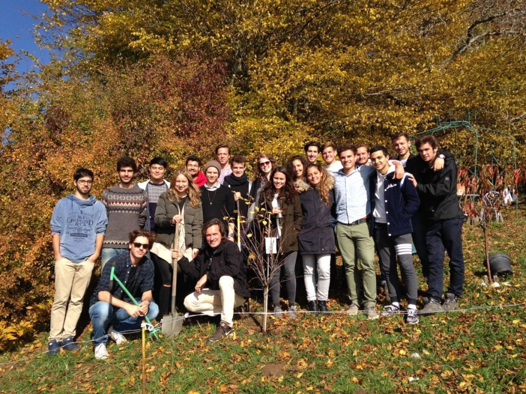 Agents of Transformation Course St Gallen 2015 Group Picture Tree Planting