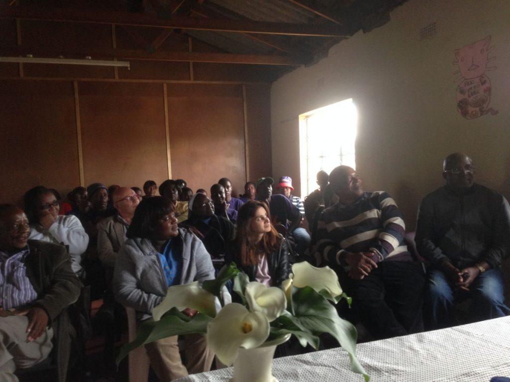 Andrew Nyambayo CARE VIVA Zimbawbwe Domboshava 2016 06 25 Audience 1