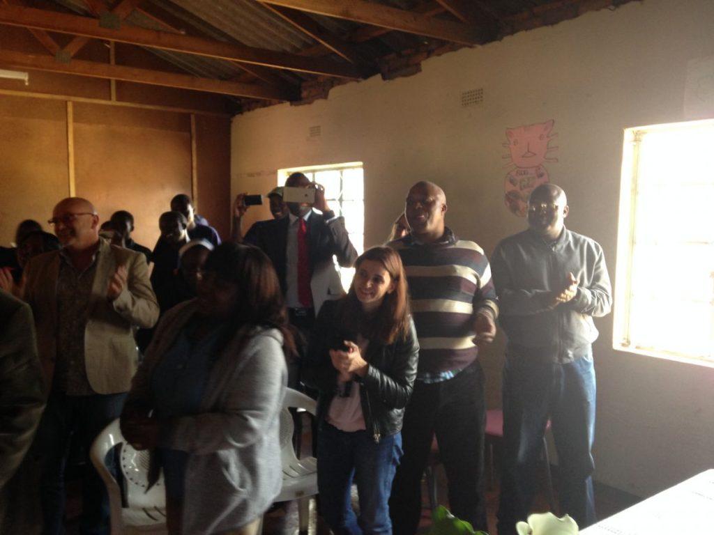 Andrew Nyambayo CARE VIVA Zimbawbwe Domboshava 2016 06 25 Audience 2