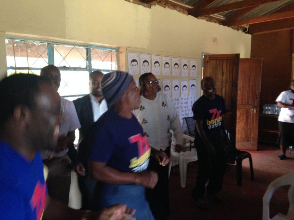 Andrew Nyambayo CARE VIVA Zimbawbwe Domboshava 2016 06 25 Celebration 2