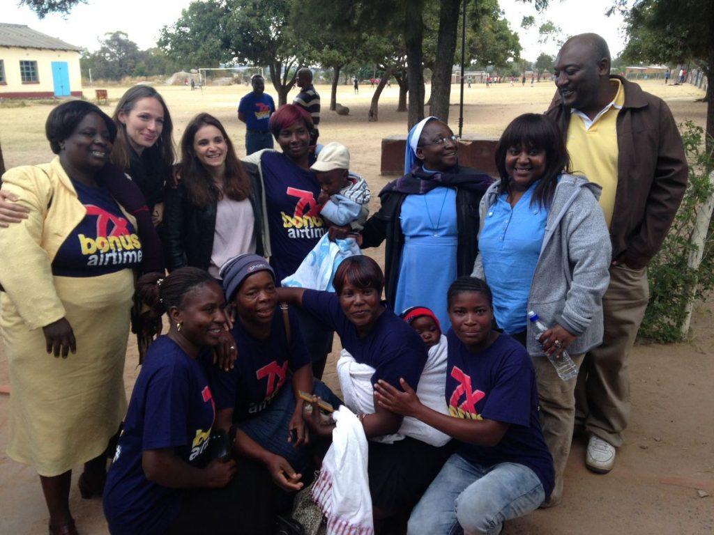 Andrew Nyambayo CARE VIVA Zimbawbwe Domboshava 2016 06 25 Group Picture 3