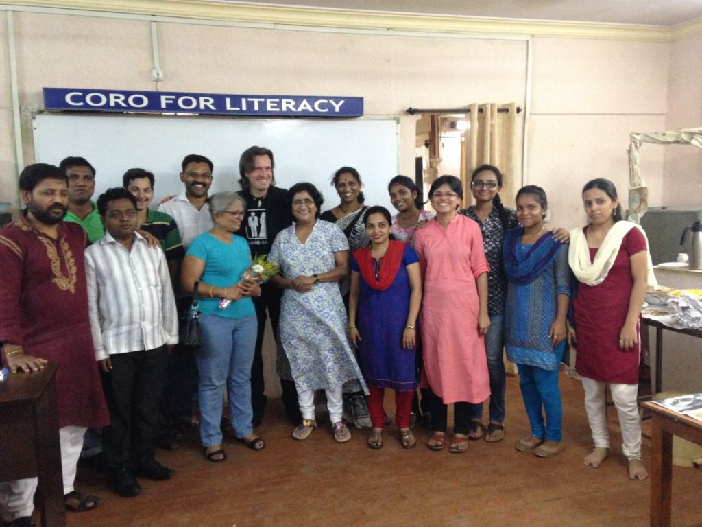 Trans4m Coro Workshop on Coro's new Center for Grassroots Leadership (June 2016) in Mumbai