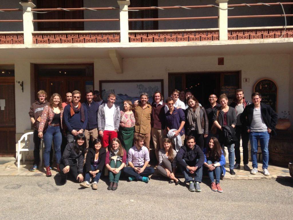 Integral Development Course 2014 Group Photo Hotonnes