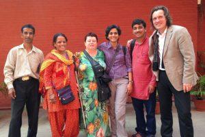 Celebrations with Radio Kumaon Vani and Radio Henvalvani and Alexander Schieffer, New Delhi, June 2016