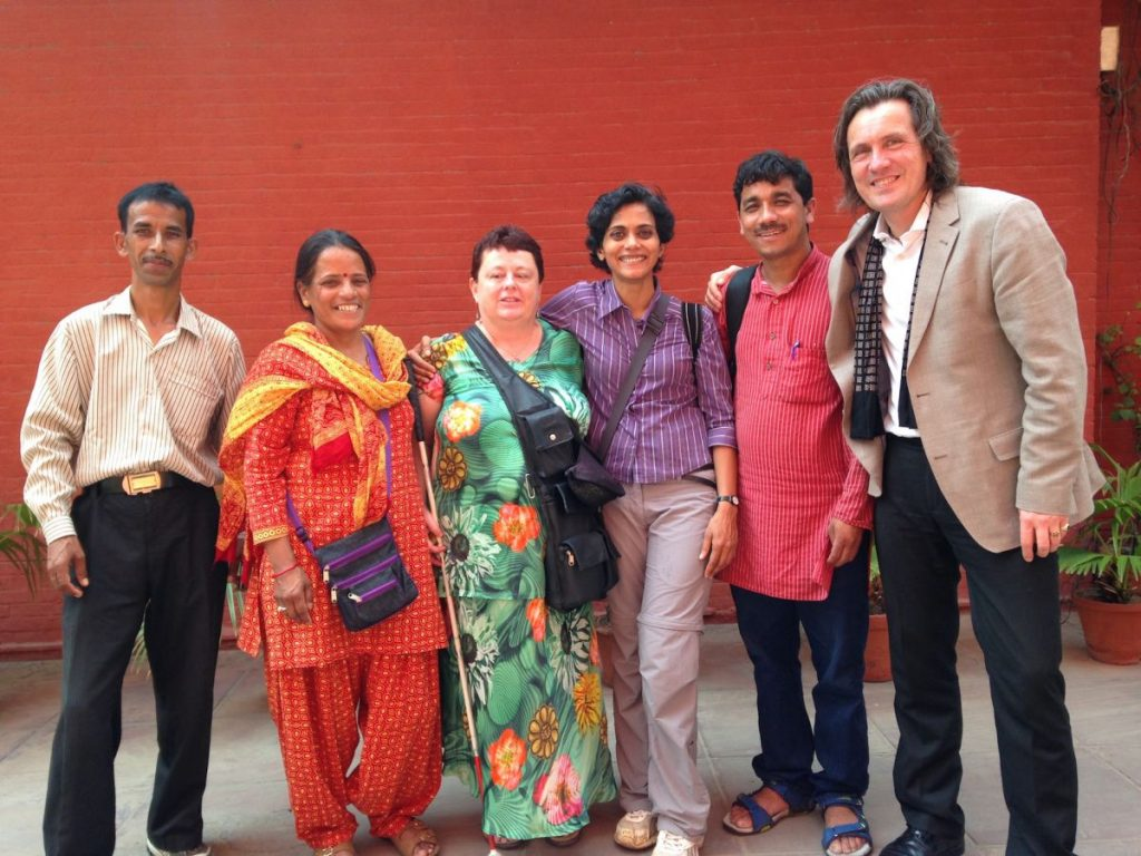 Celebrations with Radio Kumaon Vani and Radio Henvalvani and Alexander Schieffer, New Delhi, June 2016