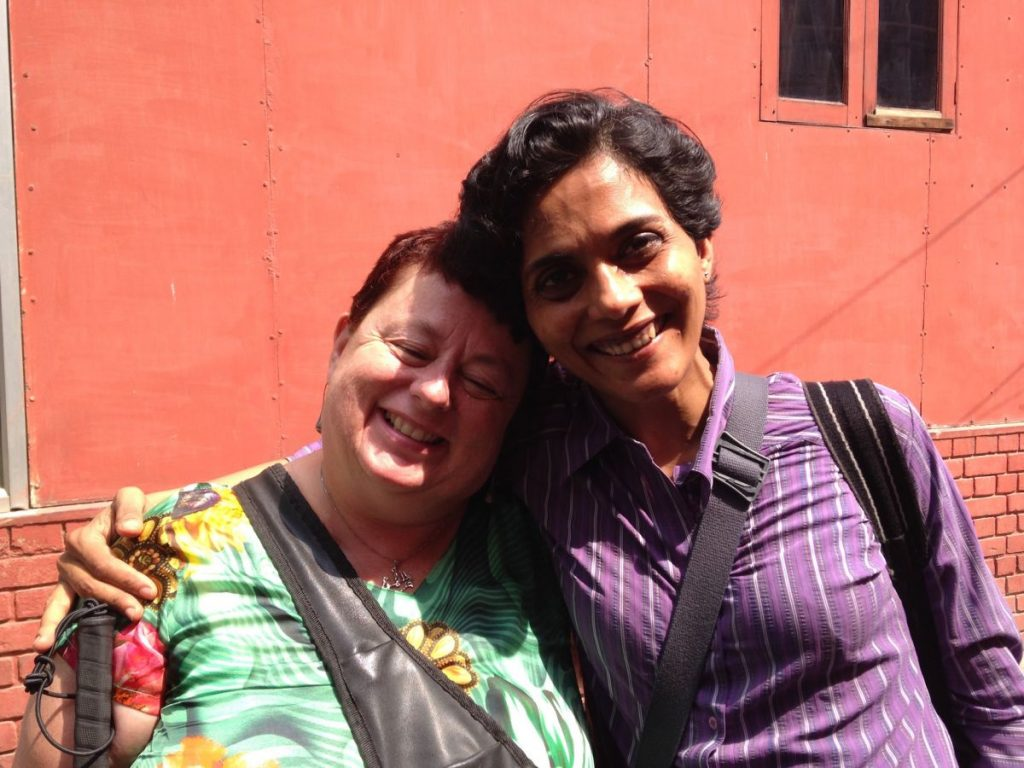 Jean Parker VIVA with Co-Researcher Shalini Bai