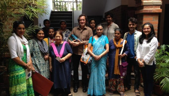 Vimochana Bangalore Workshop Integral University Group Picture 1 with Corinne Kumar 2016 06 09