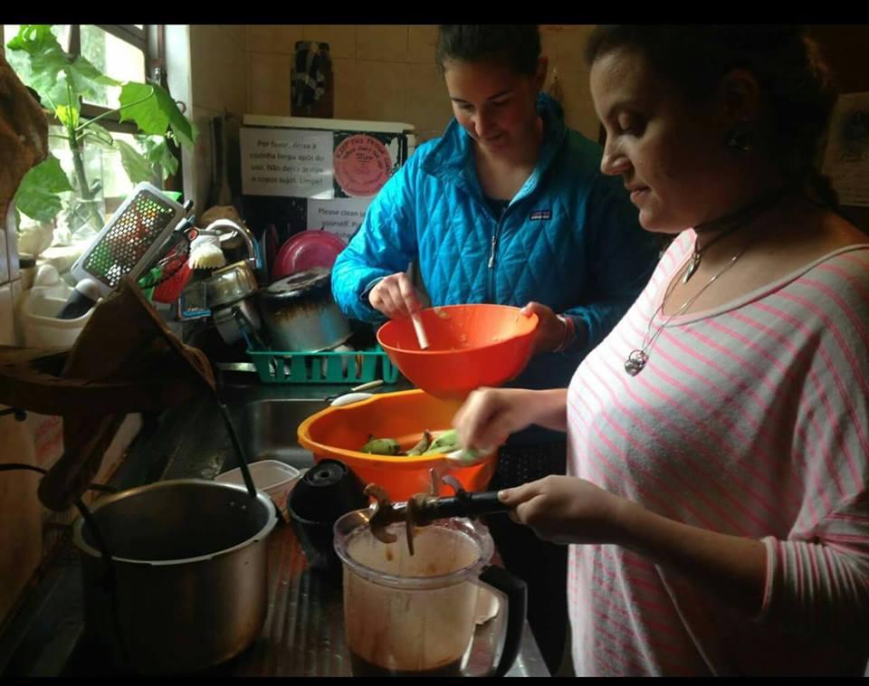 Anne Sophie Koehn Arrival in Sinal Preparing Local Food 2016 07