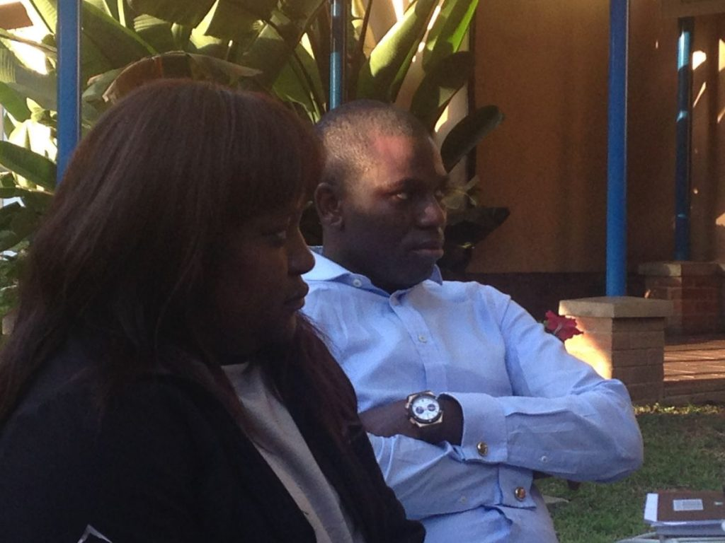 PhD Induction Harare 06 2016 Chipo Ndudzo Gbenga Awe