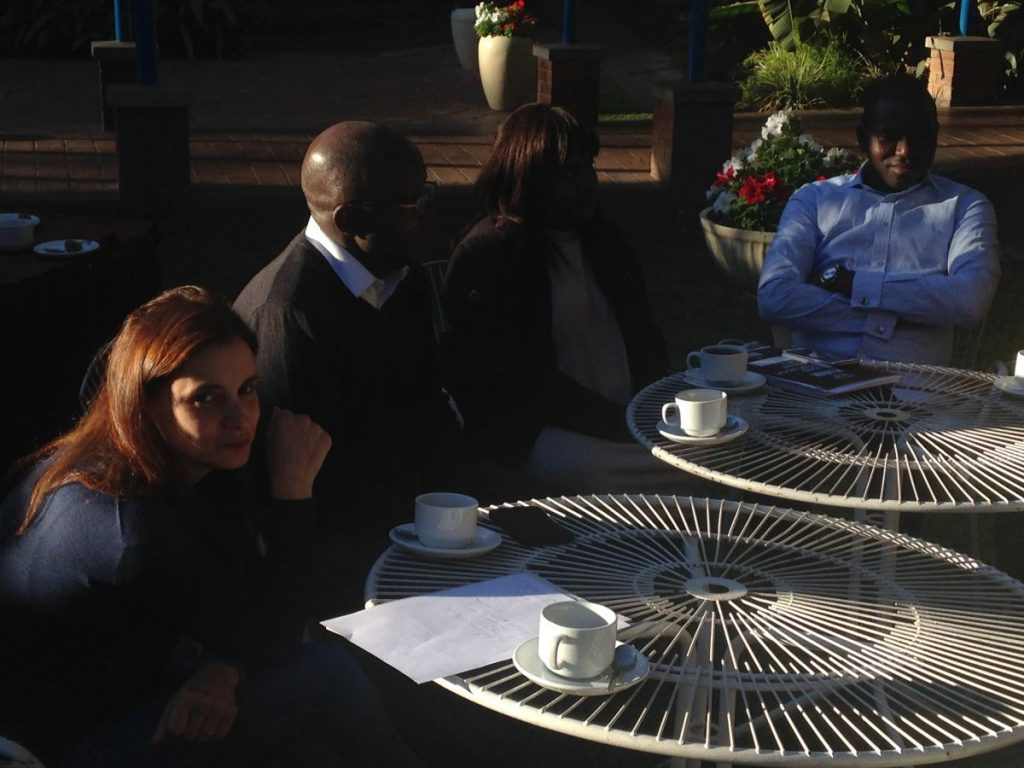 PhD Induction Harare 06 2016 Conversation Round with Pundutso 2