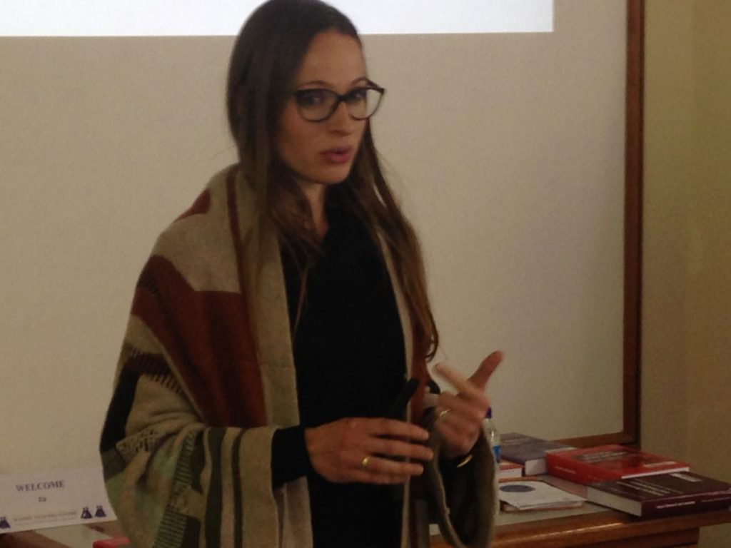PhD Induction Harare 06 2016 Franceska Jones