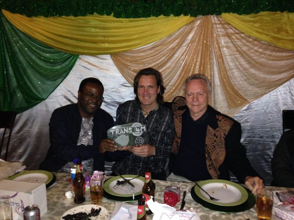 PhD Induction Harare June 2016 Concluding Dinner with Andrew Nyambayo