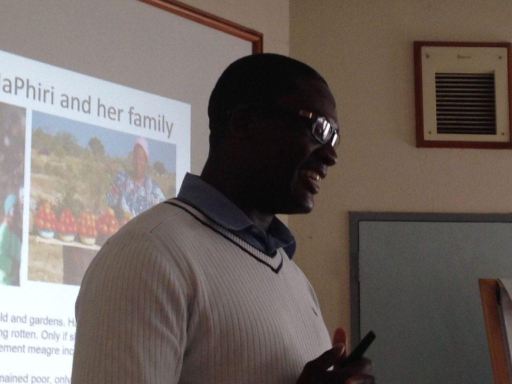 PhD Induction Harare June 2016 Smart Phiri Zongololo Presenting