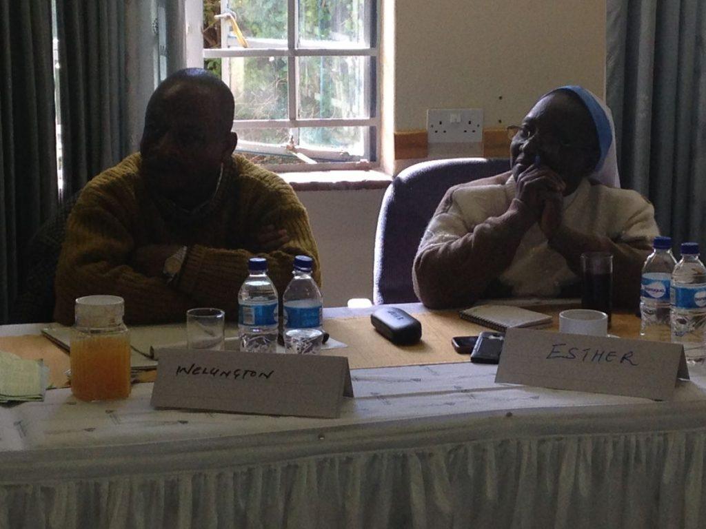 PhD Induction Harare June 2016 Wellington Mutyanda Esther Shebi