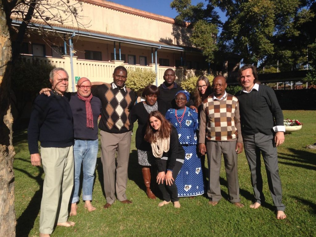 With my Research Group at the Induction of the PhD Program in Harare, Zimbabwe