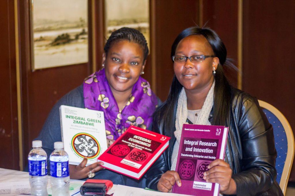 Pundutso Trans4m Workshop Harare June 2016 Reception Books