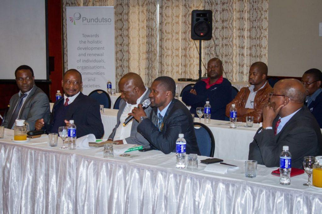 Pundutso Trans4m Workshop June 2016 Chief Musarurwa Speech