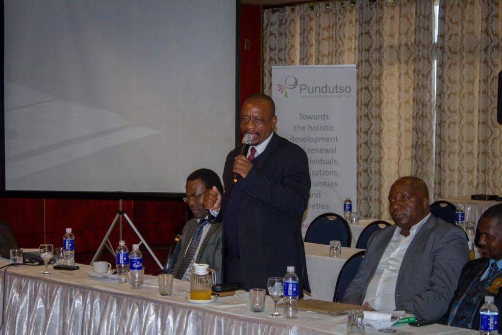 Pundutso Trans4m Workshop June 2016 Wellington Mutyanda Speech 1