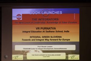 TIGE Caux Booklaunch Integrators Purnatva 2016 07 08 Book Launches Cover