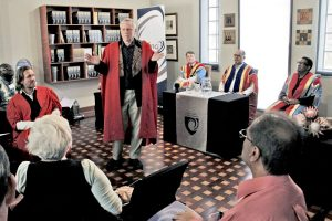 Trans4m's Lessem and Schieffer deliver Inaugural Lectures at Da Vinci Institute, South Africa