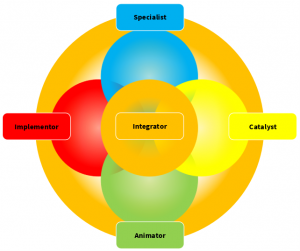 Figure 1: Team Roles within Integral Project Management