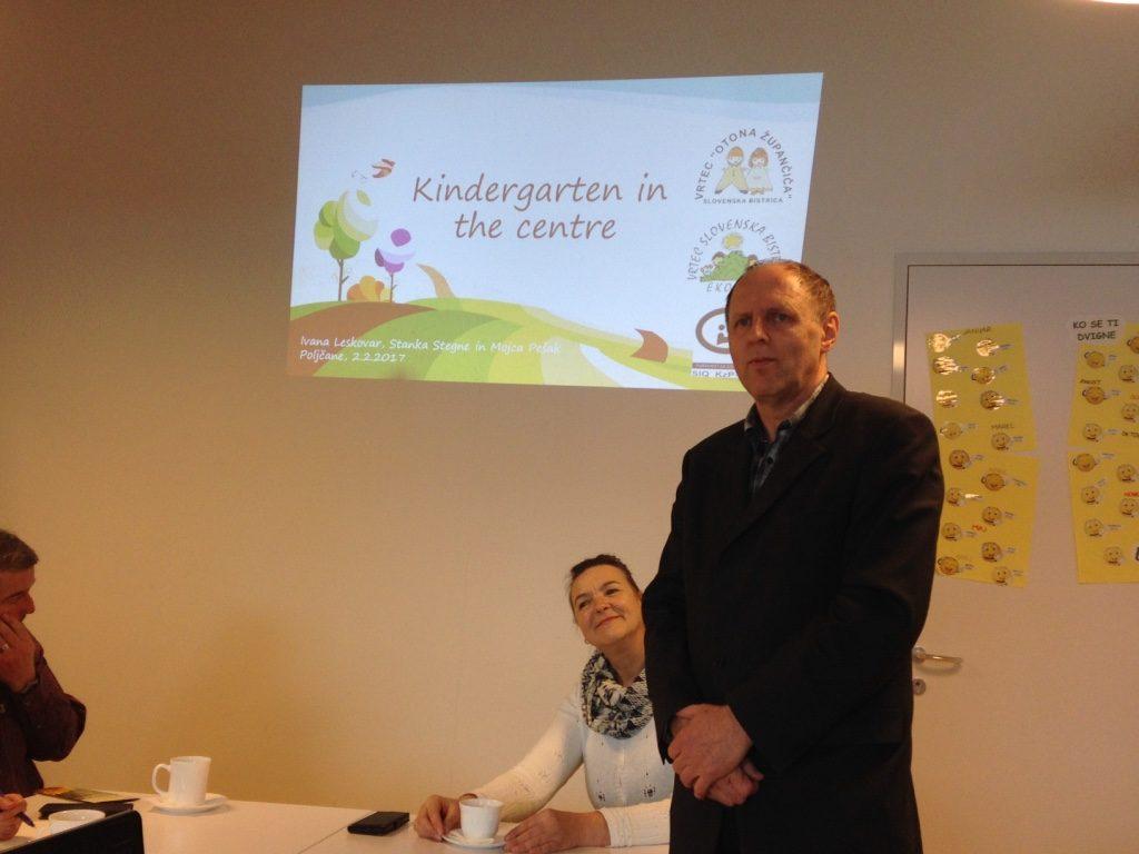 2017 02 02 Slovenia Slovenska Bistrica Kindergarden Conversation 2