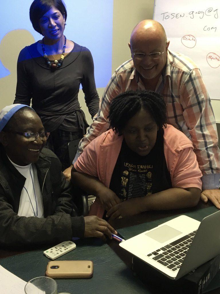 2017 03 04 PhD Module Johannesburg Cohort 4 Emil Premie Sister Shebi Chipo