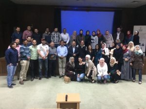 2017 04 05 Jordan Irbid Yarmouk University Group Picture 2