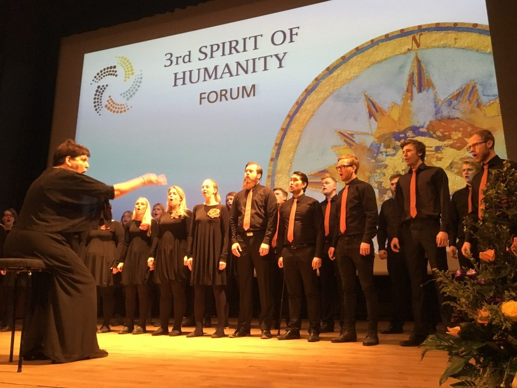 2017 04 27 Spirit of Humanity Forum Iceland Icelandic Choir