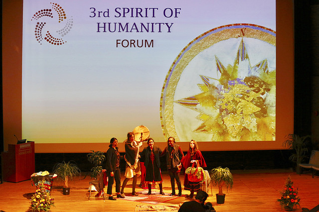 2017 04 Spirit of Humanity Forum Reykjavik Opening Theatre of Transformation Rama