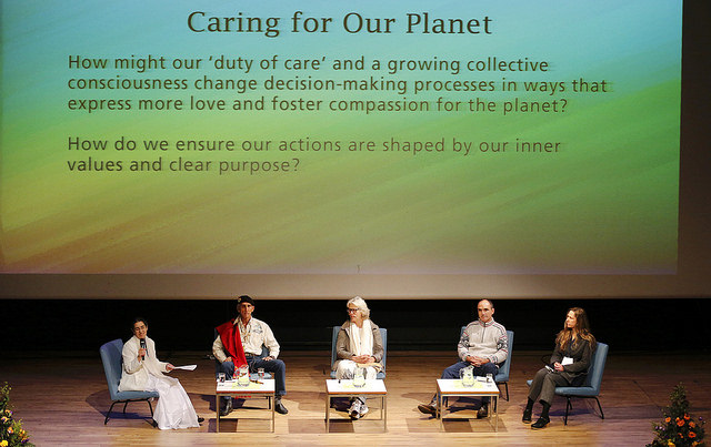 2017 04 Spirit of Humanity Forum Reykjavik Panel Caring for Our Planet