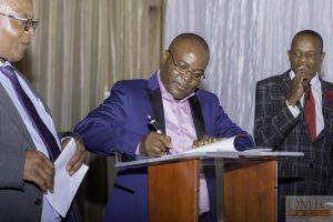 2017 05 Andrew Nyambayo Book Launch Integral Marking Zimbabwe Book Signing with Josh Chinyuku