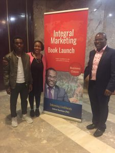 2017 05 Andrew Nyambayo Book Launch Integral Marking Zimbabwe with Banner1