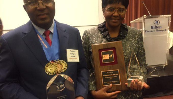 SMI Florence awards Gladys and Passmore Matupire