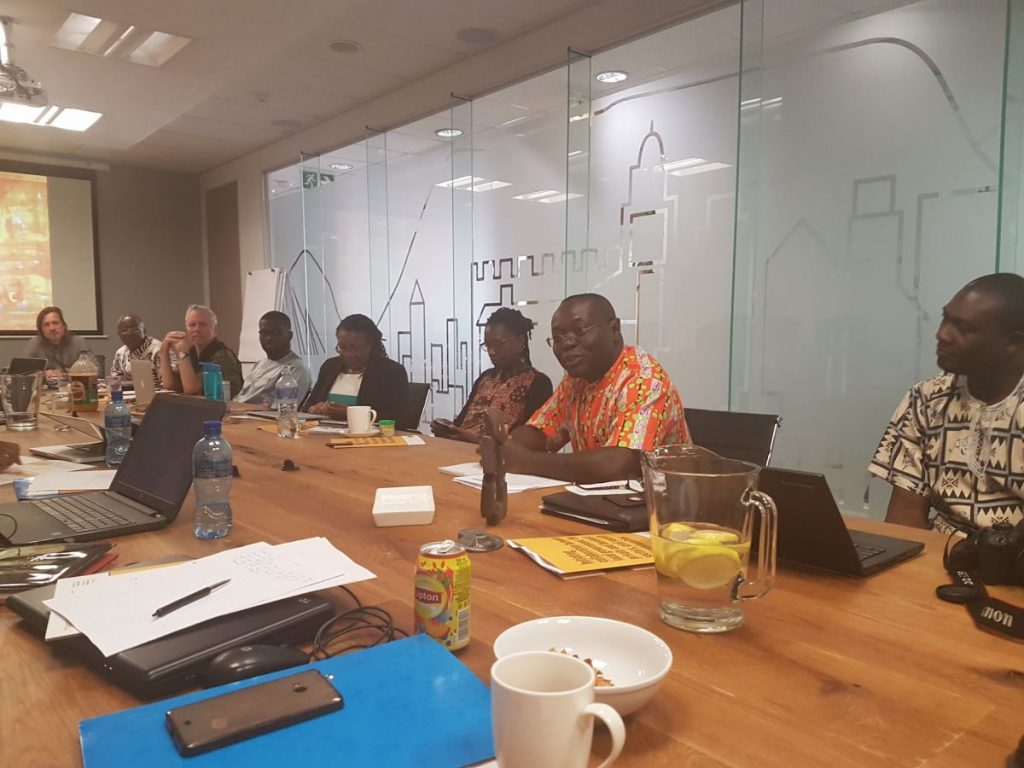2017 09 12 Johannesburg Integral Africa Roundtable Group 2